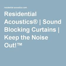 Sound Barrier Curtain 11 Best Sound Proof Curtains Images On Pinterest Curtains