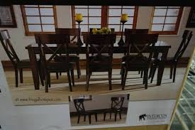 9 dining room set costco dining room sets heritage brands 9 dining set costco