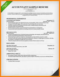accountant resume exles 9 accounting resume exles letter adress