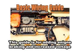 nerf basic wiring guide and braking youtube