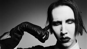 wallpaper marilyn manson face makeup gloves haircut hd