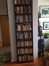 super simple secret bookshelf door u0026 book unlock mechanism 9