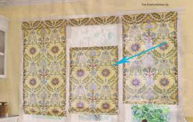 Curtains With Rods On Top And Bottom One Yard No Sew Window Treatment 3 Ways
