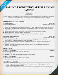 Artist Resume Template 6 Graphic Artist Resume Sample Invoice Template Download