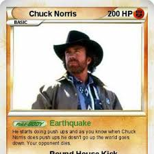 Chuck Norris Pokemon Memes - chuck norris pokemon card by themememaster24 meme center