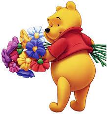 winnie pooh garden clipart