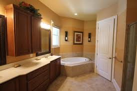 bathroom painting ideas brown wooden vanity white top also rounded white tubs