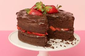 chocolate and strawberry cake recipe goodtoknow
