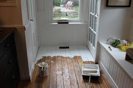 Wood Floor Paint Modern Jane White Painted Floor Part 1