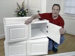 Built In Window Bench Seat How To Build Window Seat From Wall Cabinets How Tos Diy