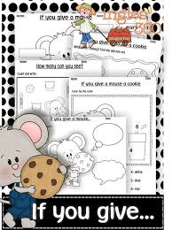90 best preschool if you give a mouse a cookie ret images on