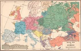 World Map Of Europe by Vintage 1923 Europe Map Racial Map Of European Nationalities