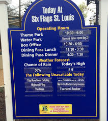 St Louis Six Flags Prices Six Flags St Louis Opens 2015 Season The Coaster Guy
