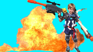 kids shoot nerf gun and blow up grass with pokemon bomb youtube
