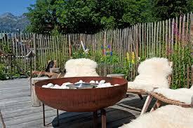 eden hotel bormio unopiù the outdoor garden and patio