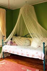 diy twin bed canopy kids shabby chic style with girls room day bed