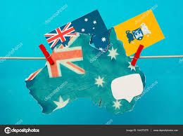 Flag Capital Flag Of Australian Capital Territory Act And Australia Map