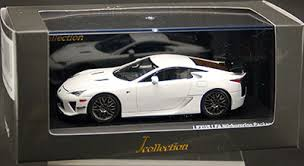 lexus lfa model car amiami character hobby shop j collection 1 43 white wheel