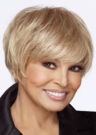 raquel welch short hairstyles lace front short straight blonde monofilament wig luxurious