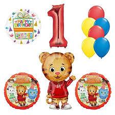 1st birthday party supplies daniel tiger neighborhood 1st birthday party supplies and balloon