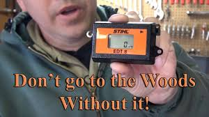 stihl edt 8 tachometer youtube