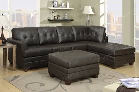 Colored Sectional Sofas by 12 Photo Of Diana Dark Brown Leather Sectional Sofa Set