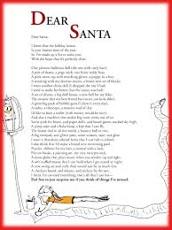 funny children u0027s poem about a really long christmas wish list to