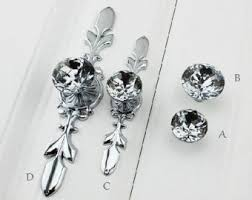 crystal cabinet door handles pink crystal knob rhinestone dresser knobs glass drawer knob pulls