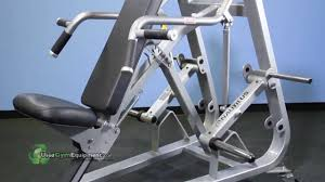 used nautilus xpload incline chest press plate loaded refurbished