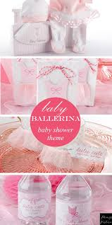 ballerina baby shower theme baby shower theme idea baby ballerina things festive weddings