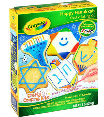 hanukkah cookies crayola hanukkah cookie kit hanukkah chanukah gift baskets