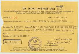 Charitable Contribution Receipt Template Yvo Donations To Certified Trusted Ngos Ant