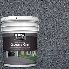 Home Depot Gray Paint by 5 Ga Gallon Concrete Basement U0026 Garage Floor Paint Paint