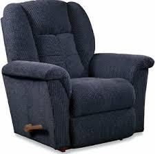 la z boy navy rocker recliner lazy boy chair arm chairs blue