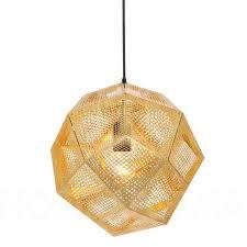 Shade Pendant Light Tom Dixon Etch Shade Pendant L Modern And Contemporary