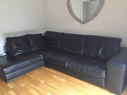 Large Black Leather Corner Sofa Black Leather Corner Sofas Second Hand Household Furniture Buy