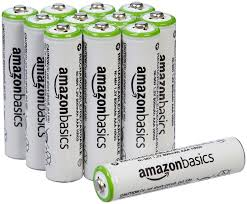 amazon com amazonbasics aa rechargeable batteries 16 pack