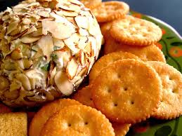 thanksgiving cheese ball recipe cheese ball with pineapple and green pepper