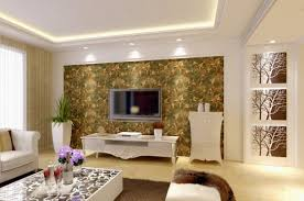 beautiful livingroom wallpaper in interior design ideas for home