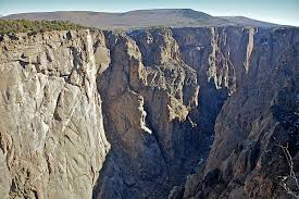 voyagers black canyon of the gunnison south rim drive前段