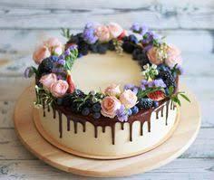 joannapydacakestudio black chocolate ganache cake with white drip