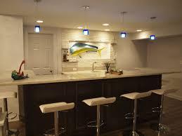 Basement Wet Bar by Wet Bar Lighting