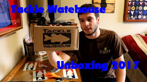 tackle warehouse black friday sale tackle warehouse unboxing 2017 youtube