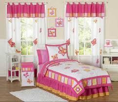 kinderzimmer gardinen rosa kinderzimmer gardinen vorhänge mit schmetterling motive in weiß