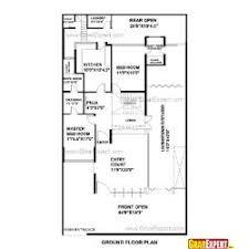 Home Design 400 Square Feet House Plan For 38 Feet By 45 Feet Plot Gharexpert Com