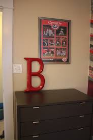 Cincinnati Reds Bedroom Ideas Because Home Should Be Great Homerun Baseball Room Reveal