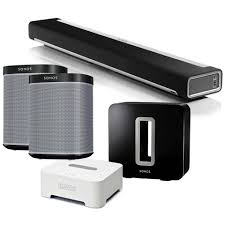 sonos as home theater system sonos home theatre bundle electronics thehut com
