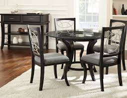 popular of silver dining table and chairs pertaining to interior