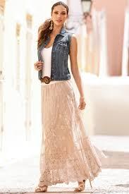women u0027s country fashion inspirations boho chic denim vests and boho