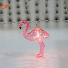 pink flamingo patio lights flamingo lights 10 led string light fairy party wedding home